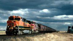 Перевозка поездом